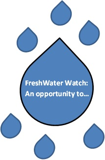 Learn about citizen science with FreshWater Watch