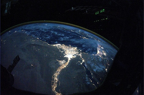 Earth from space © NASA