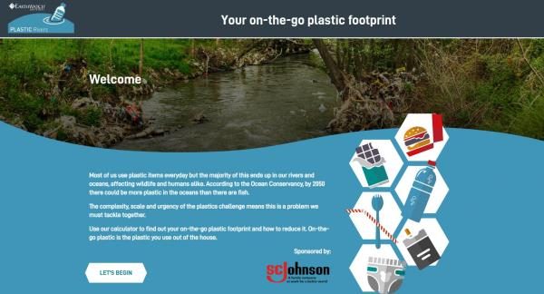 Earthwatch Plastic Footprint Calculator